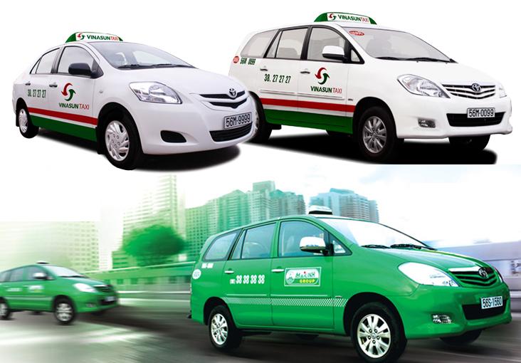 ベトナム旅行情報局おすすめのタクシーはVINASUN(ヴィナサンタクシービナサンタクシー)TAXIとMai linh(マイリンタクシー)です
